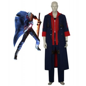 Devil May Cry 4 : Nero Bleu Coupe Vent Kit Costume Cosplay Acheter