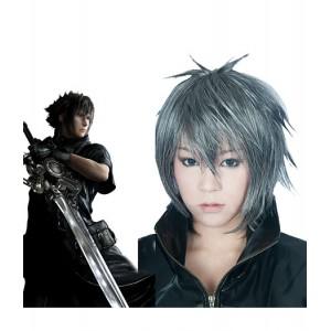 Final Fantasy : Gris Argenté Wig Noctis Lucis Caelum Cosplay