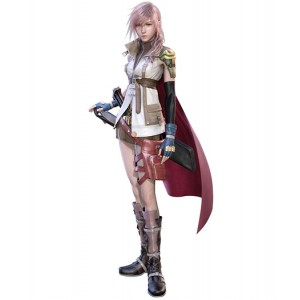 Final Fantasy 13 : Lightning Femme Costume Kit Cosplay Acheter