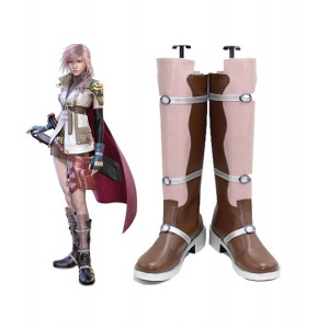 Final Fantasy 13 : Rose Long Boots Lightning Cosplay Acheter