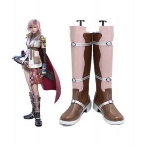 Final Fantasy 13 : Rose Long Boots Lightning Cosplay Acheter