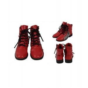 Final Fantasy : Tifa Lockhart Rouge Chaussures Cosplay Acheter