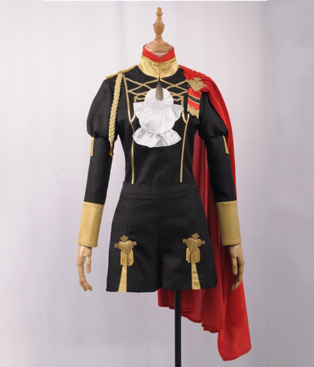Fire Emblem : ThreeHouses Claude Noir Et Rouge Costume Cosplay Acheter