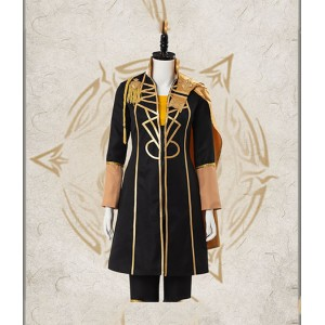 Fire Emblem : ThreeHouses Jaune Et Noir Claude Costume Cosplay