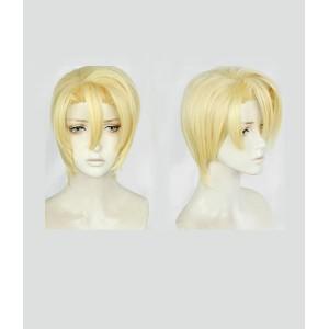 Fire Emblem : ThreeHouses Jaune Dimitri Alexandre Bladud Wig Cosplay Acheter