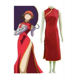 Gintama : Kagura Rouge Cheongsam Costume Cosplay Acheter