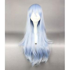 Kantai Collection : Hibiki 80cm Bleu Clair Wig Cosplay Acheter