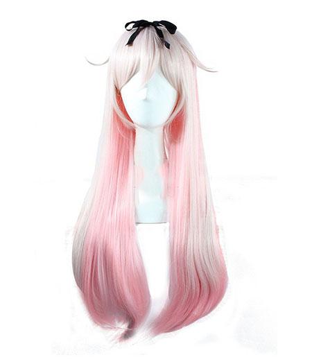 Kantai Collection : 80cm Long Yudachi Wig Cosplay Vente Chaude