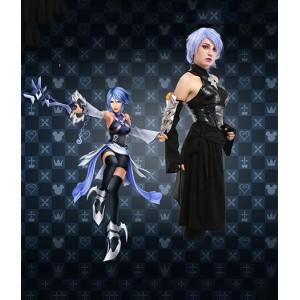 Kingdom Hearts III : Haute Qualité Aqua Sexy Costume Cosplay