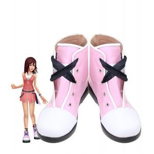 Kingdom Hearts II : Haute Qualité Blanc Et Rouge Chaussures Kairi Cosplay Achat