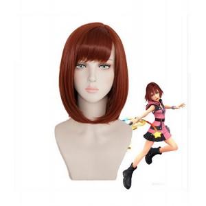 Kingdom Hearts III : Brown Court Wig Kairi Cosplay Vente Chaude