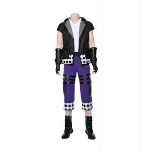 Kingdom Hearts III : France Haute Qualité Riku Costume Cosplay