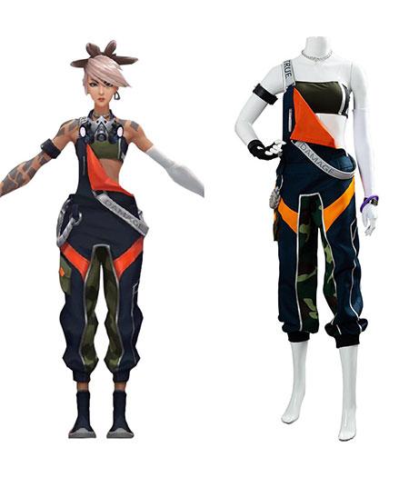 League of Legends : Akali Femme Sexy Uniforme Costume Cosplay Acheter