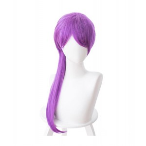 League of Legends : Evelynn Pourpre Femme Wig Cosplay