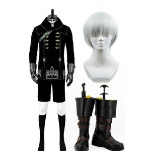 NieR : Automata Yorha 9S Ensemble Complet Costume Cosplay Achat