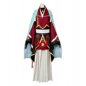 Touken Ranbu : Ensemble Complet Izuminokami Kanesada Costume Cosplay