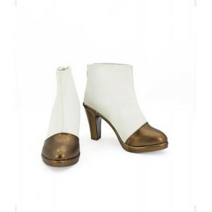 Touken Ranbu : Blanc Chaussures Midare Toushirou Cosplay Acheter
