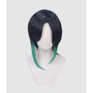 Touken Ranbu : Cosplay Noir Wig Shizukagata Naginata