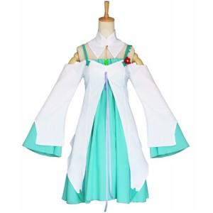 Re:Zero kara Hajimeru Isekai Seikatsu Anime Costume Cosplay Emilia Dress