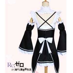 Re:Zero Kara Hajimeru Isekai Seikatsu Ram Anime Cosplay Costumes