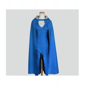 Game Of Thrones : Bleu Cape Daenerys Targaryen Cosplay Acheter