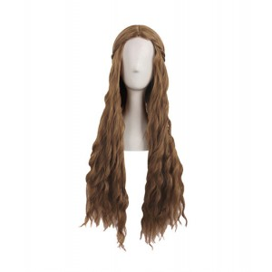 Game Of Thrones : Cersei Lannister Brown Wig Cosplay
