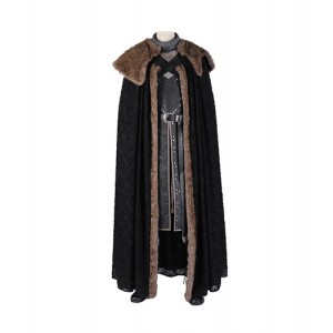 Game of Thrones : Jon Snow Cape Costume Cosplay