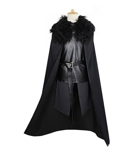 Game of Thrones : Jon Snow Ensemble Complet Costume Cosplay