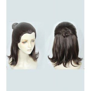 Game Of Thrones : Arya Stark Noir Wig Cosplay Acheter