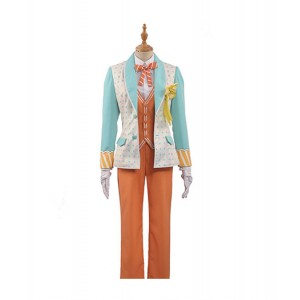 Uta no Prince-sama : Ensemble Complet Jaune Clair Shinomiya Natsuki Costume Cosplay Acheter