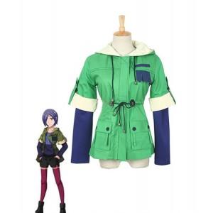 Tokyo Ghouls : Vert Coat Kirishima Touka Costume Cosplay Acheter
