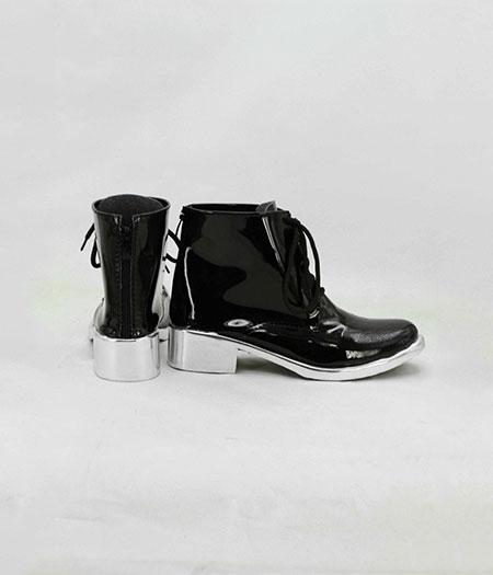 Tokyo Ghoul : Noir Kaneki Ken Taille Haute Chaussures Cosplay