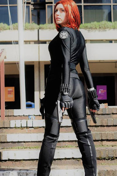 Black Widow Vente Chaude Cosplay Album Photo