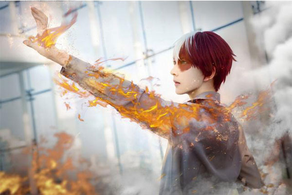 Beau Cosplay Todoroki Shouto Album Photos