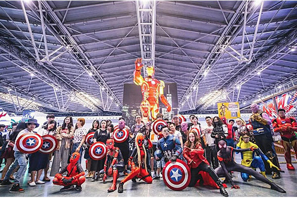 Ensemble Complet The Avengers Cosplay Album Photos